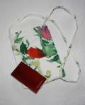 floral mini bag