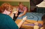 knotting the jazzy comforter