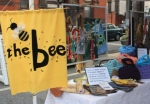 the bee, go gree in the city